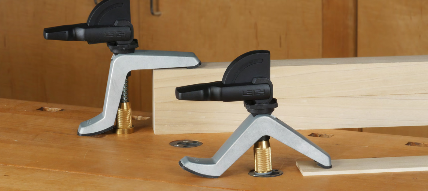 Leigh Hold Down Clamps for Workbench