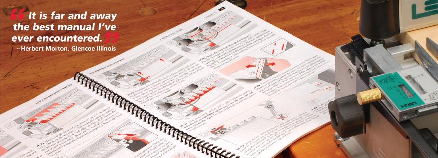 Fmt pro frame mortise & tenon jig user guide leigh dovetail jigs.