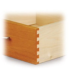 Single Pass Half-Blind Dovetail Jig