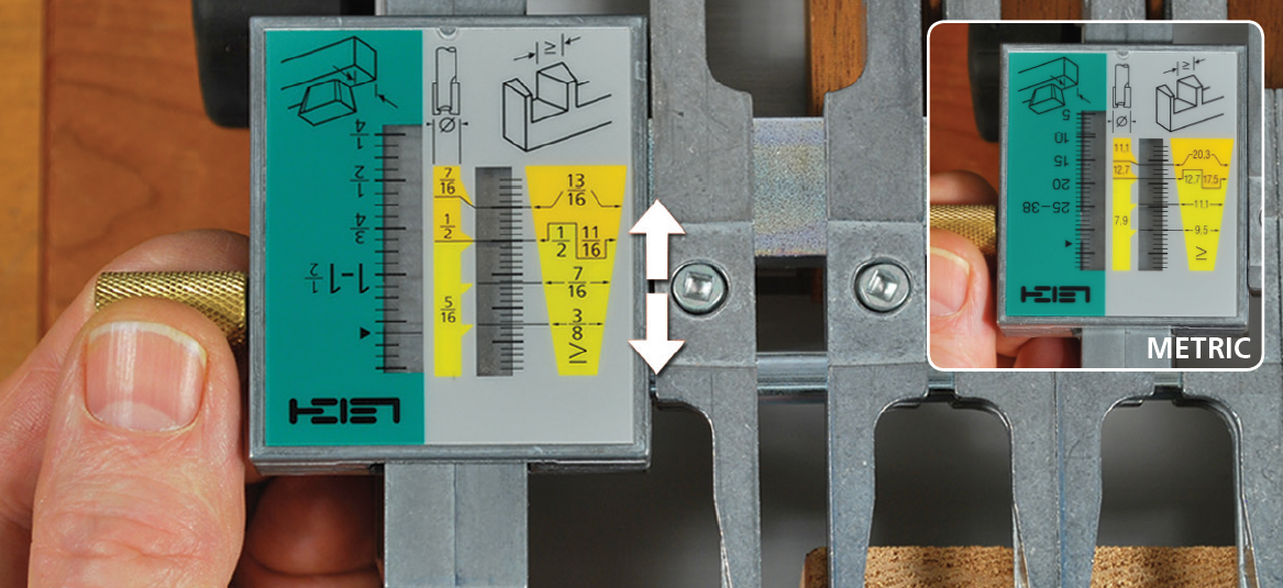 Leigh Joint Fit Adjustment Through Dovetail Jig