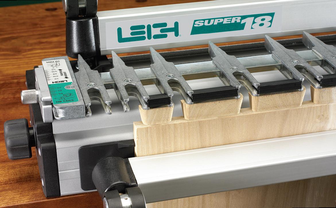 Super Jigs Features | Features Leigh D4R Dovetail Super Jigs