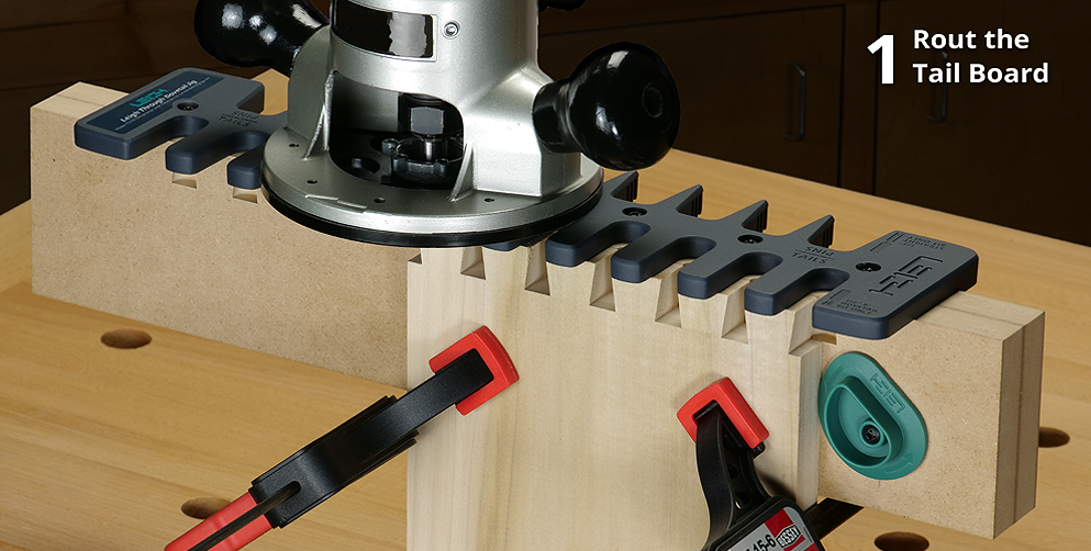 Rout Through Dovetails