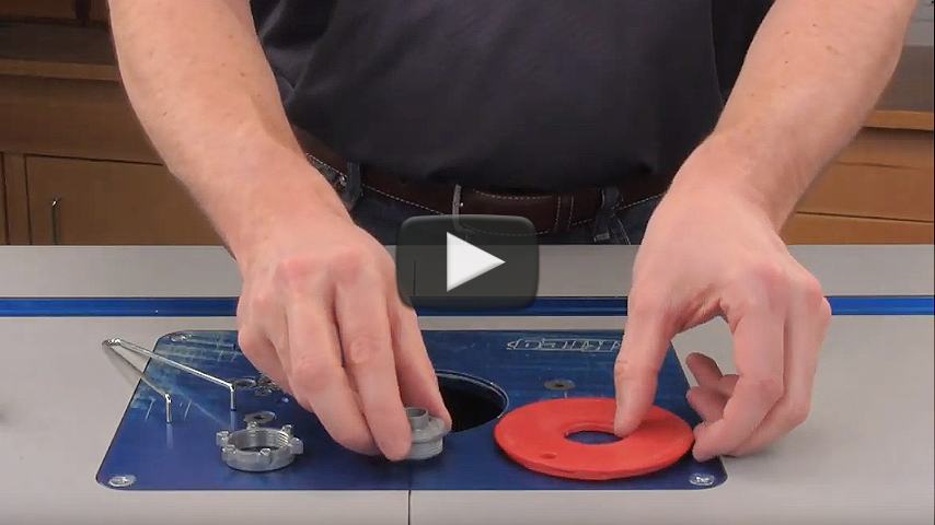RTJ400 Router Table Requirements Video
