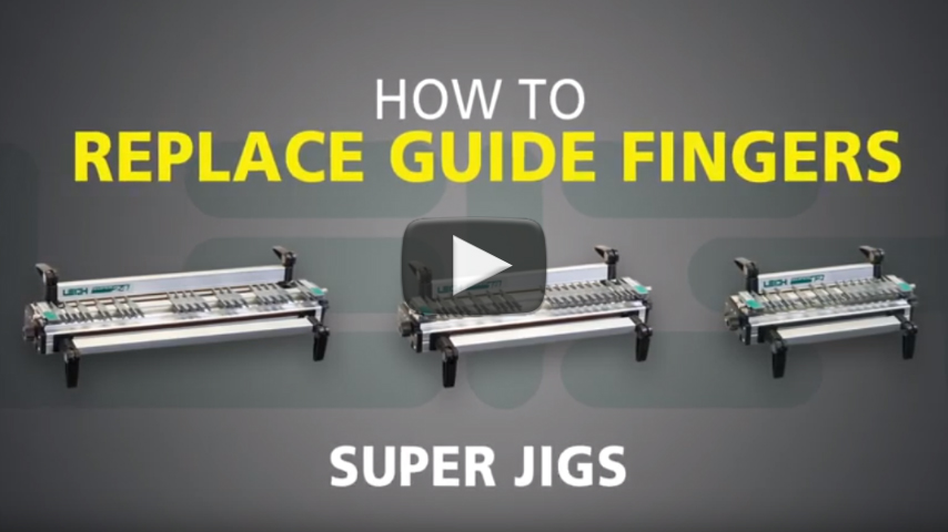 How To Replace Guide Fingers