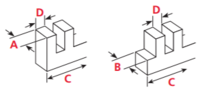 Leigh D4R Pro Box Joints Dovetail Jig specification
