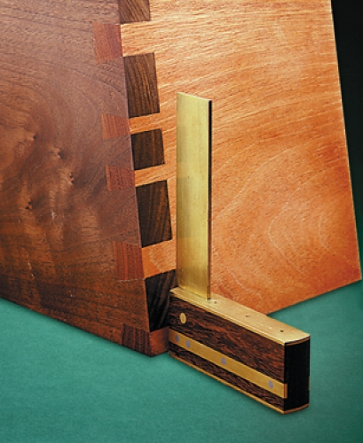 Angled Through Dovetails