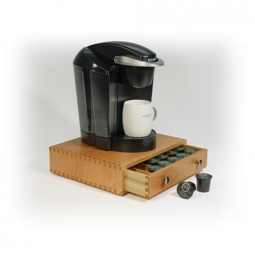 K-cup box - coffeemaker on top -3_16 BJ - 771 bkgd fades 28x28 72