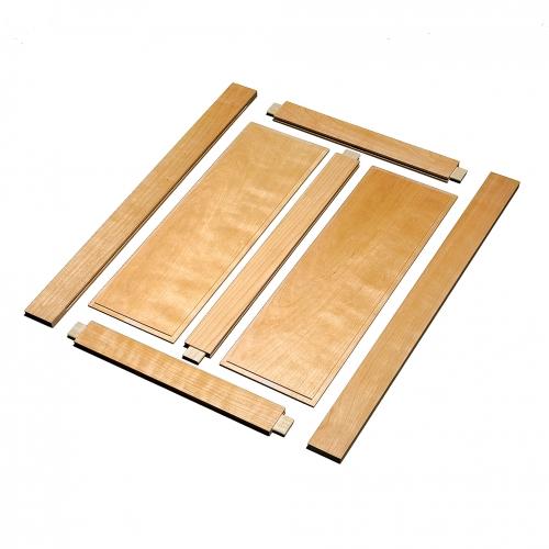 MT Bedside table CC rail & stile 28x28 72