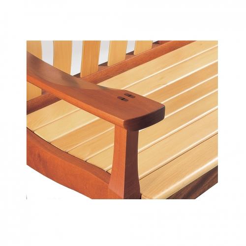 MT Garden bench armrest CC 28x28 72