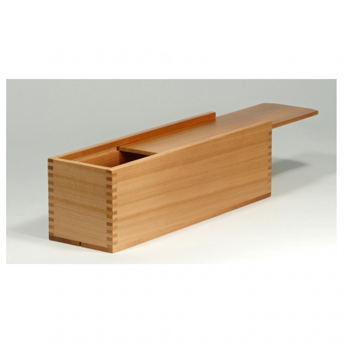 Wine box with 316 box joints in red cedar. 4-14H x 4-14W x 14-14D