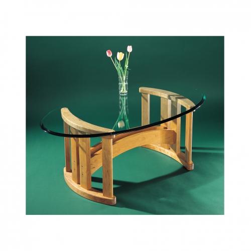 MT Coffee table glass 28x28 72