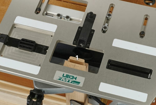 Routed Double Twin Tenon 1 FMT Pro with type P1140429