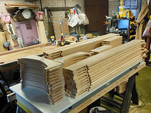 Storm window frames Reese Production 5