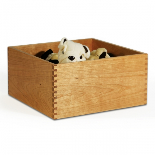 Cherry Storage Box - Through Dovetails