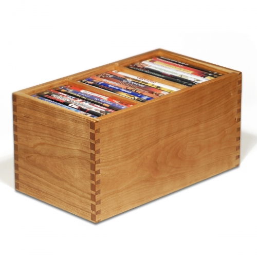 DVD Storage Box - Half Pitch Through Dovetails