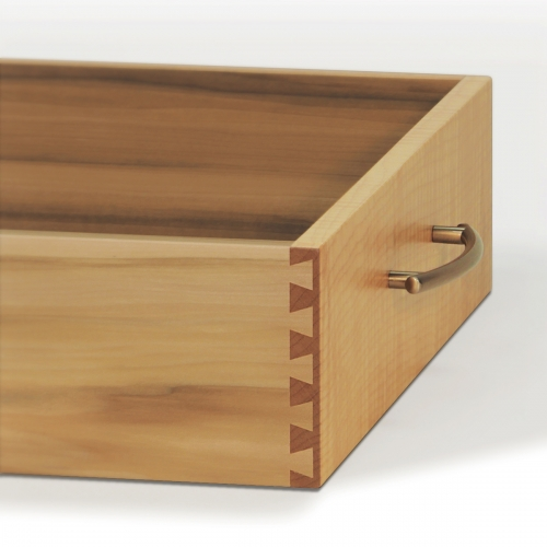 Maple Drawer - Single Pass Half Blind Dovetails