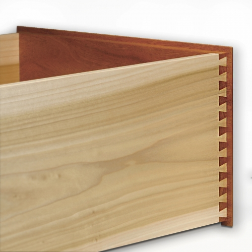 Rabbeted Drawer - Half Blind Dovetails