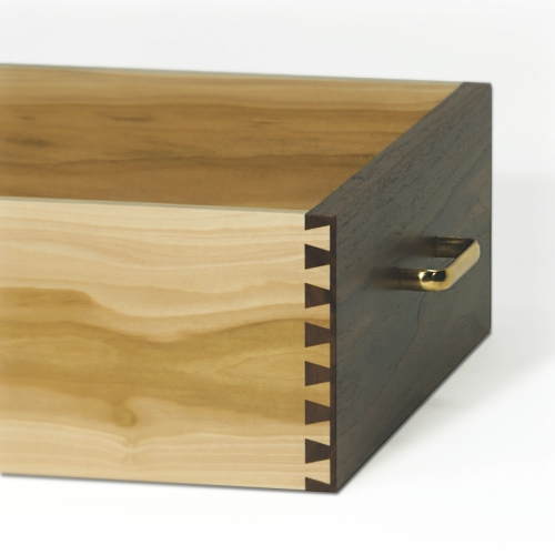 Walnut Drawer - Half Blind Dovetails