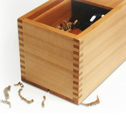 Wine Box - Box Joints