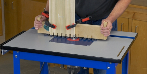 Leigh TD330 Router Table Image