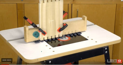 Leigh TD330 Router Table Video Image