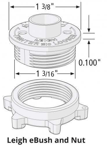 TD330 Guide Bushing Diagram